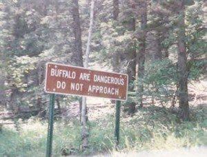 buffalo-sign
