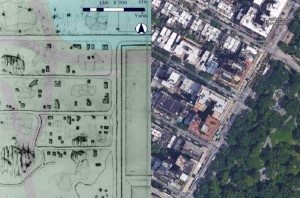Seneca Village Project; Google Earth; Photo: City Metric