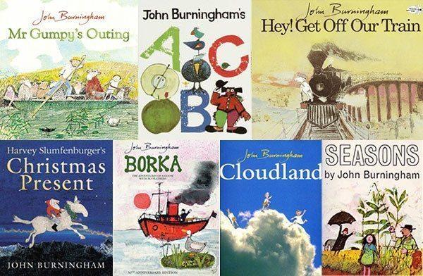 John Burningham Books