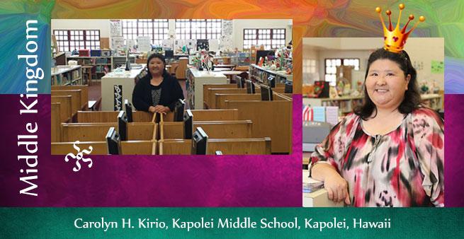 Carolyn Kirio, Kapolei Middle School