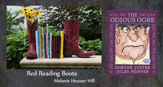 Red Reading Boots The Odious Ogre