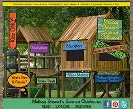 Melissa Stewart's website