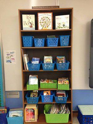 Classroom bookshelf