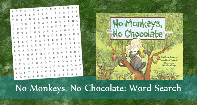 Word Search No Monkeys No Chocolate