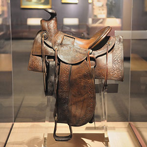 Buffalo Bill's personal saddle