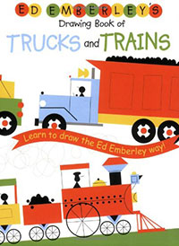 Ed Emberley's Book of Trucks and Trains