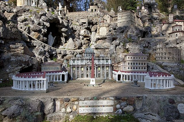 St. Peters Church in Rome, Ave Maria Grotto, Cullman