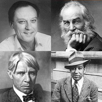 Lee Bennett Hopkins, Walt Whitman, Carl Sandburg, Langston Hughes