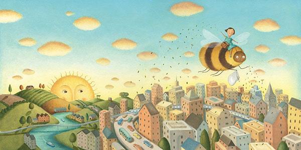 Bee & Me interior