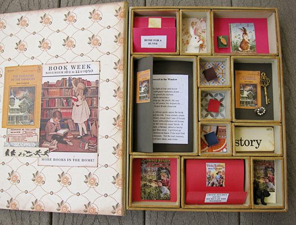 Book Box Interior