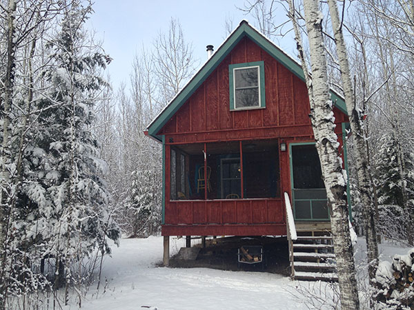 Mary Casanova cabin