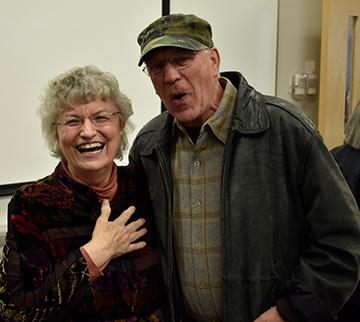 Kathleen Baxter and Pete Steiner