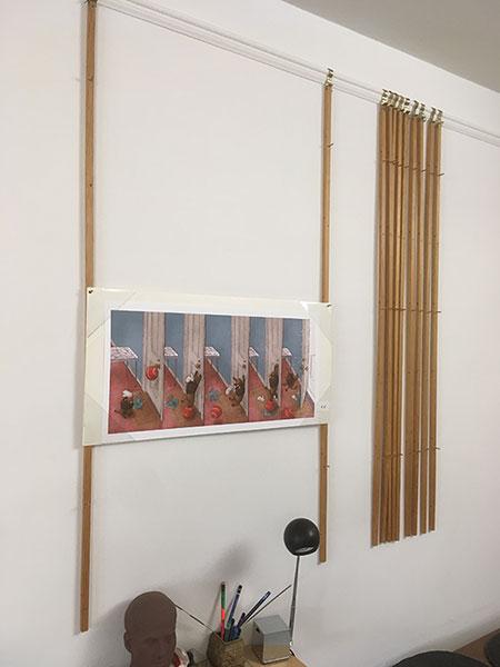 Paul O. Zelinsky art display system