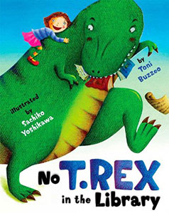 No. T.Rex in the Library