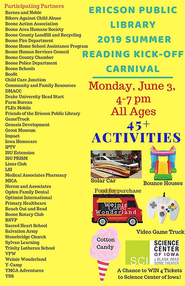 summer reading kickoff
