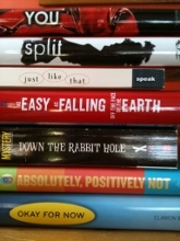 Writing Road Trip | Book Spine Poetry - Where She Went | Lisa Bullard