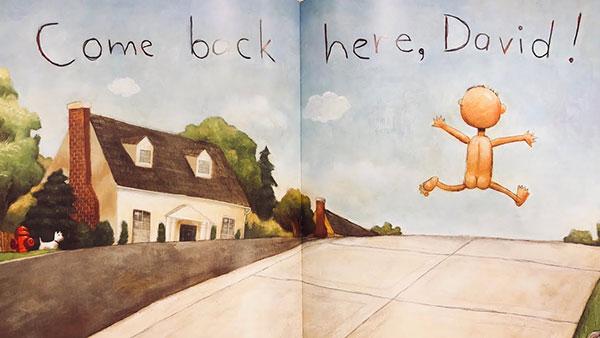 illustration from No, David!