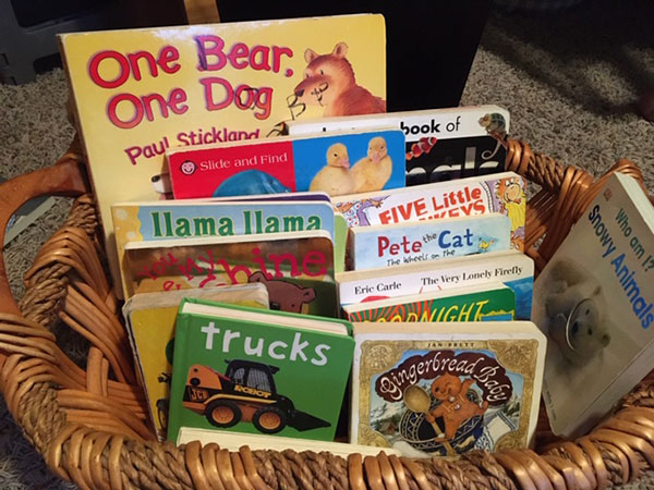 our book basket