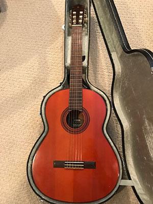 Margo's guitar
