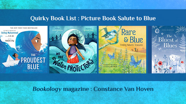 Picture Book Salute to Blue