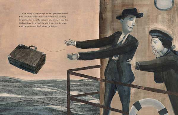 illustration from The Book Rescuer