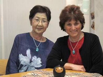 Sachiko and Caren
