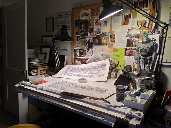 John Owen's studio