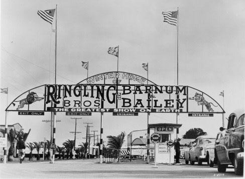 Winter Home of Ringling Bros Barnum & Bailey Circus, Sarasota, Florida