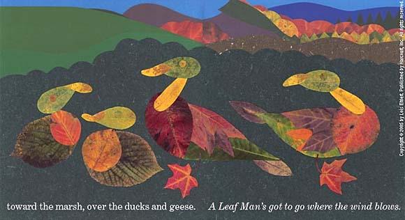 Leaf Man illustration