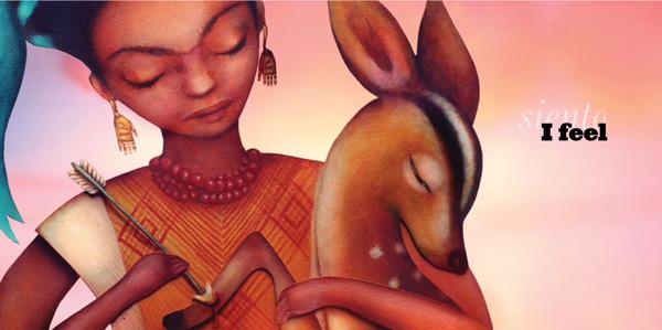 illustration from Viva Frida