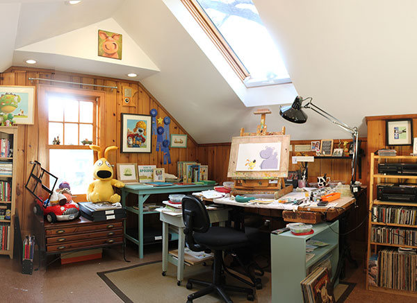 Mike Wohnoutka's studio