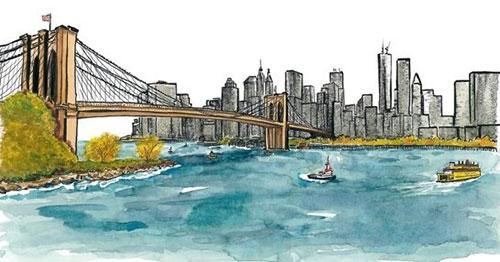 Brooklyn Bridge Castillo