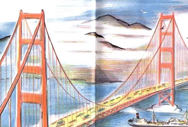 Golden Gate bridge, Don Freeman