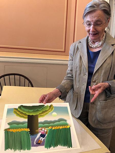 Sybille Jagusch at the Library of Congress