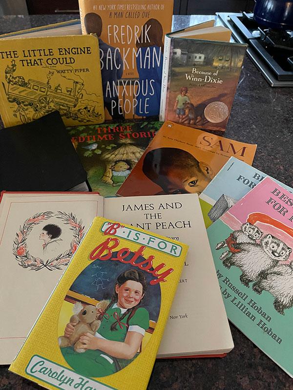 Catherine Urdahl's Self on the Shelf selections
