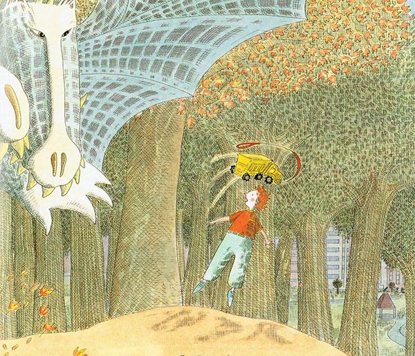 illustration from You've Got Dragons